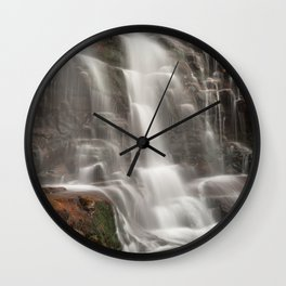 Ganoga Autumn Falls Wall Clock