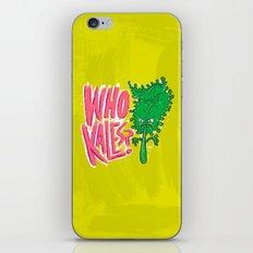 Who Kales? iPhone & iPod Skin
