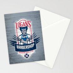 Logan's Barbershop Stationery Cards