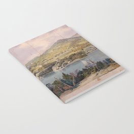 Panorama of West Point from Constitution Island by John Rubens Smith (c 1820) Notebook