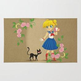 Retro Sailor Moon Rug