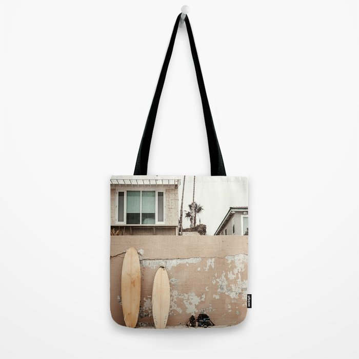 San Diego Surfing Tote Bag