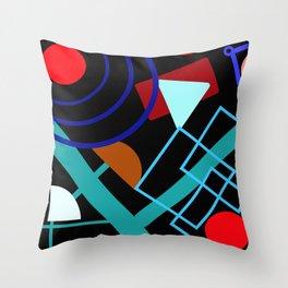 Channeling Kandinsky Throw Pillow