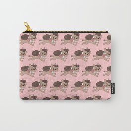 Lady Frenchie is going out for a walk with her friends Carry-All Pouch