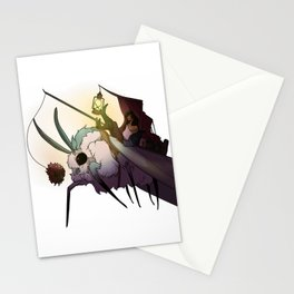 Caravan Moth Stationery Cards