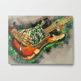 Joe Perry's Electric Guitar Metal Print