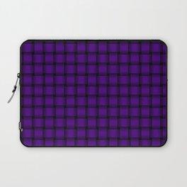Small Indigo Violet Weave Laptop Sleeve
