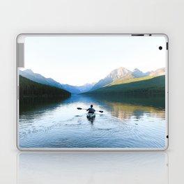 Kayaking on Bowman Lake Laptop & iPad Skin