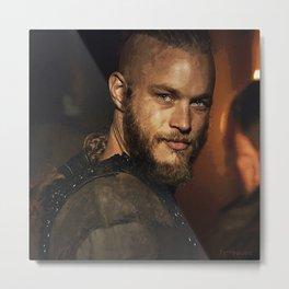 Ragnar Lothbrok Metal Print
