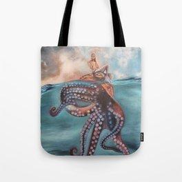Illusory Island Tote Bag