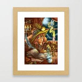 Mischievious Magic Framed Art Print