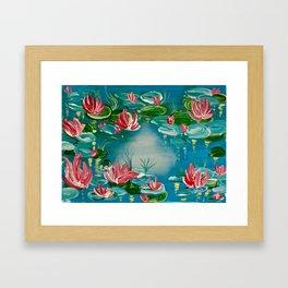 Lilly love Framed Art Print