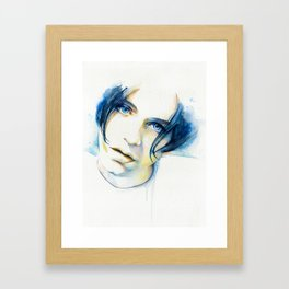 Brian Molko (I'll be yours) Framed Art Print