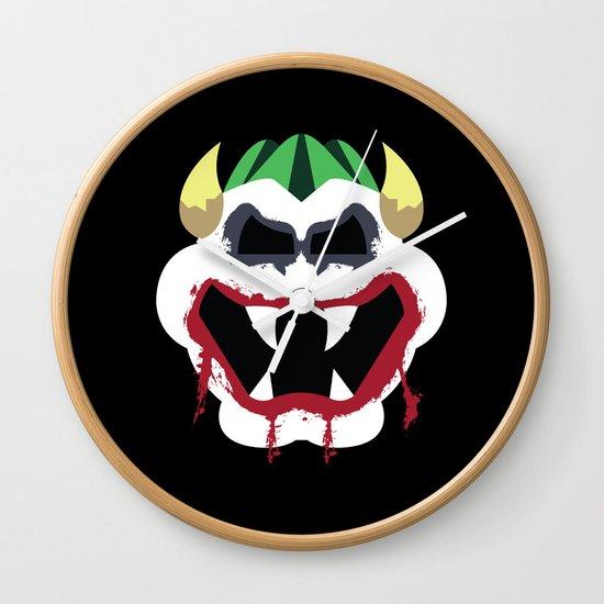 Joke's On You Bowser Wall Clock