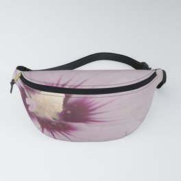 Light Pink Hibiscus Flower Fanny Pack