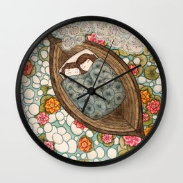 Boat Nap Wall Clock