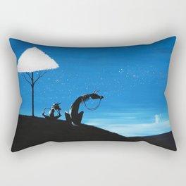 Don Quixote Rectangular Pillow
