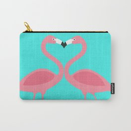 Flamingos Kissing Carry-All Pouch