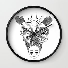 The Thoughts That Hurt Wall Clock
