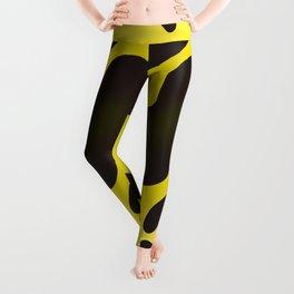 Yellow Anaconda Leggings