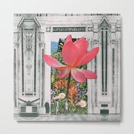 The magical Lotus flower Metal Print
