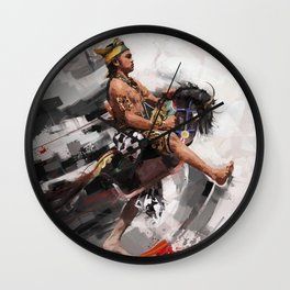 leathered horse (kuda lumping) Wall Clock