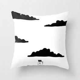 Climb up Throw Pillow
