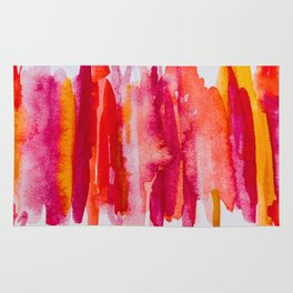 Watercolor Experiment Number One Rug
