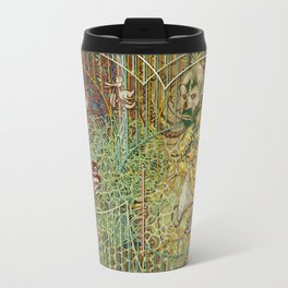 Grinding Out The Mean Layer Travel Mug