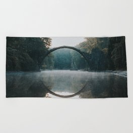 The Devil's Bridge - Landscape and Nature Photography Beach Towel