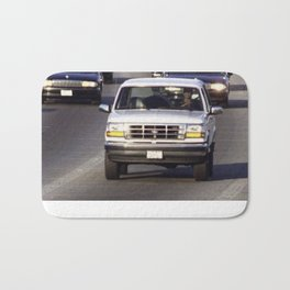 OJ Simpson Car Chase Bath Mat
