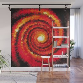 Fire Portal Wall Mural