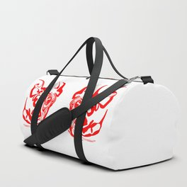 face8 red Duffle Bag
