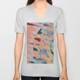 Planetary Fragmentation Unisex V-Neck