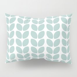 leaves - robins egg blue Pillow Sham