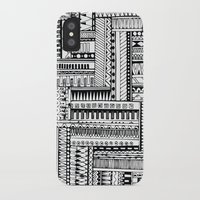 tribal iPhone & iPod Cases featuring Tribal  by Ale Ibanez