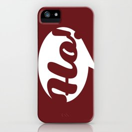 Ho, ho, ho! Santa is coming iPhone Case