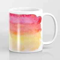 gradient Mugs featuring Gradient by Diego Tirigall