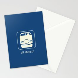 Shinkansen Stationery Cards