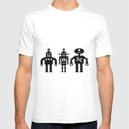 Three Robots by Bruce Gray T-shirt