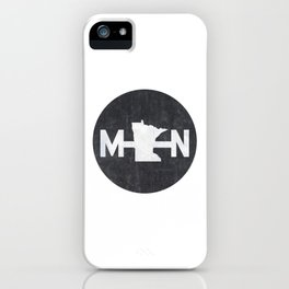 Minnesota Logo MN iPhone Case