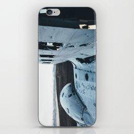 Airplane Wreckage iPhone Skin