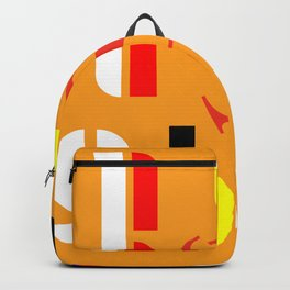 Bauhaus design decor Backpack