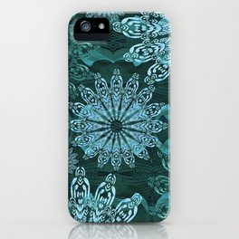 High Definition Mandala Ice Crystals iPhone Case