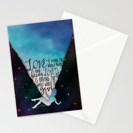 The Love That Split The World - Being Loved Stationery Cards