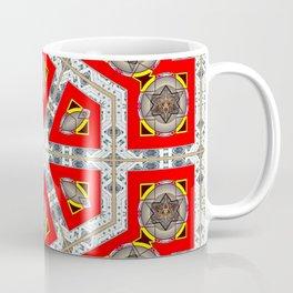 The Red Hexagon Coffee Mug