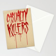 Casualty Killers Stationery Cards