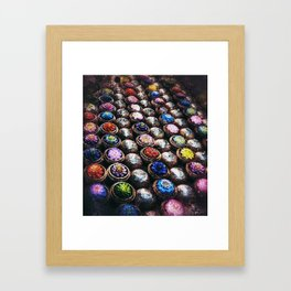 Colours of Thailand Framed Art Print