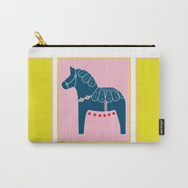 Spring Dala Horse 1 Carry-All Pouch