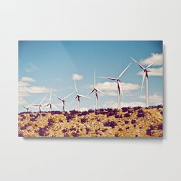 California Greening Metal Print